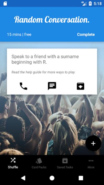 Shuffle My Life - Things To Do screenshot 2