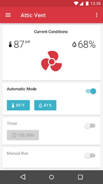 GAF Wi-Fi VENT screenshot 2
