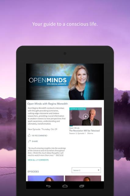 Gaia: Stream mindfulness, yoga & astrology videos screenshot 15