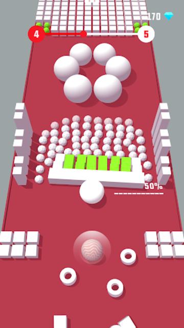 Color Push - Protect the ball 3D! screenshot 3