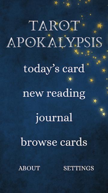 Tarot Apokalypsis screenshot 1