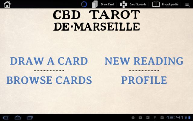 CBD Tarot de Marseille Pro screenshot 9