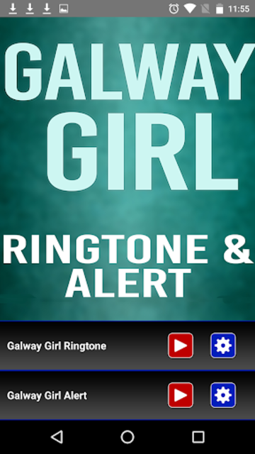 Galway Girl Ringtone and Alert screenshot 2