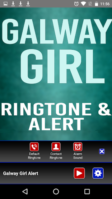 Galway Girl Ringtone and Alert screenshot 3