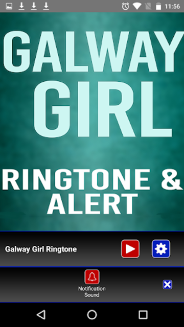 Galway Girl Ringtone and Alert screenshot 4