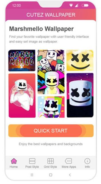 Marshmello Wallpaper screenshot 2