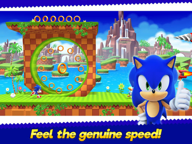 Sonic Runners Adventure - Fast Action Platformer screenshot 7