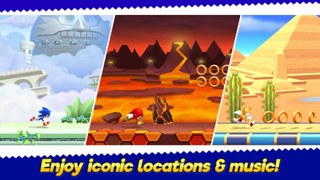 Sonic Runners Adventure - Fast Action Platformer screenshot 2