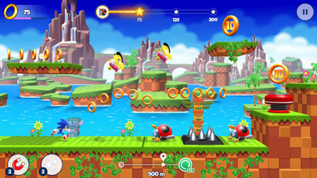 Sonic Runners Adventure - Fast Action Platformer screenshot 6
