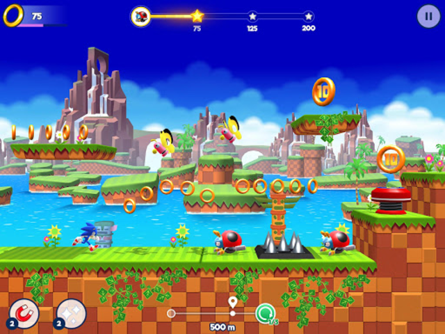 Sonic Runners Adventure - Fast Action Platformer screenshot 12