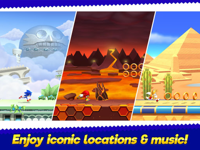 Sonic Runners Adventure - Fast Action Platformer screenshot 14