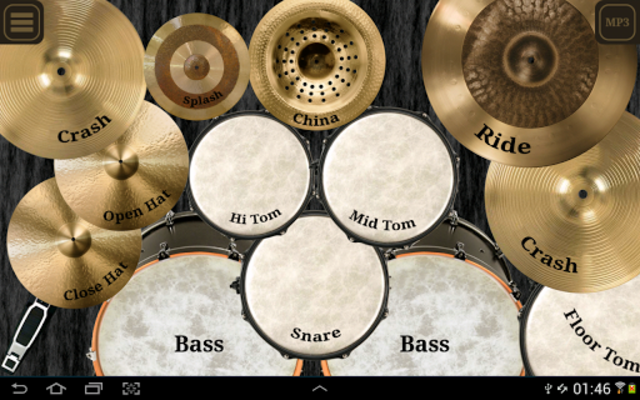 Drum kit (Drums) free screenshot 1