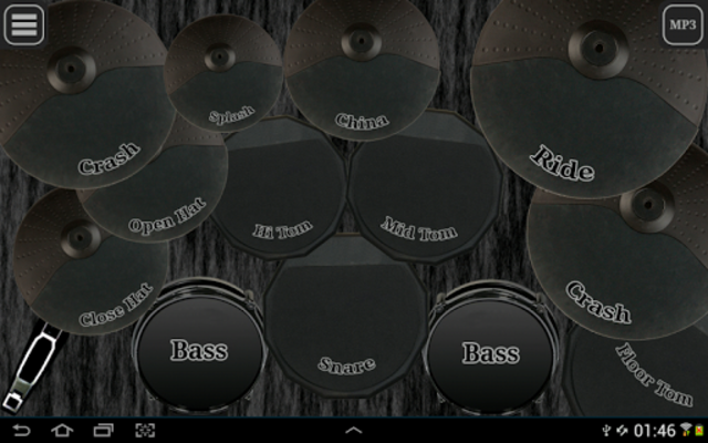 Drum kit (Drums) free screenshot 2