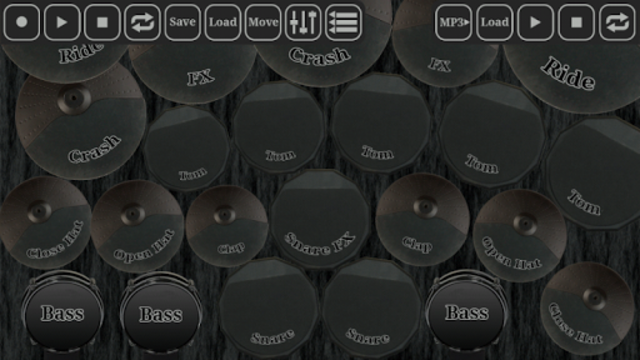 Electronic drum kit screenshot 2