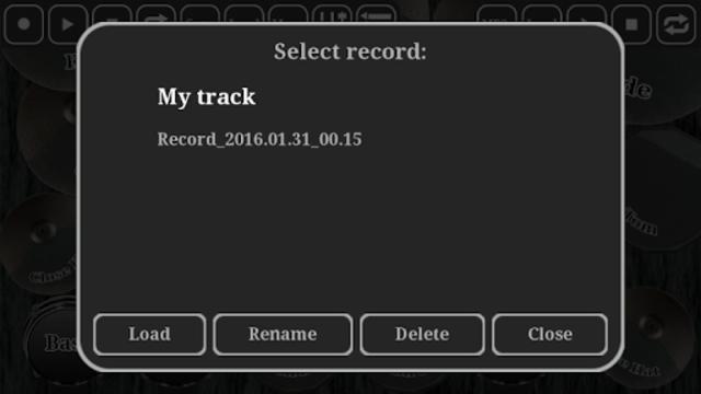 Electronic drum kit screenshot 4