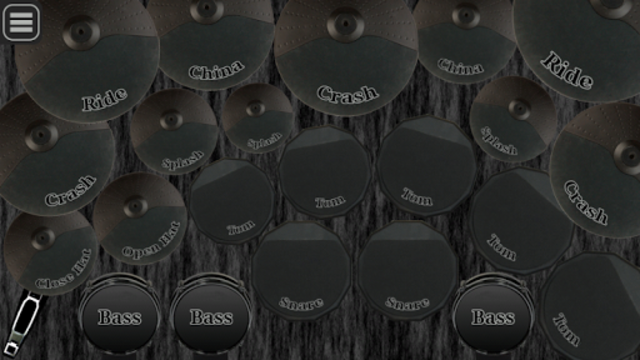Electronic drum kit screenshot 1