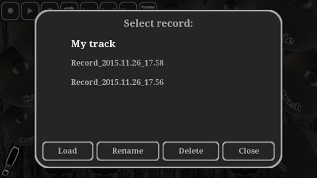 Electronic drum kit screenshot 3