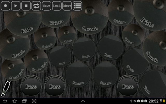 Electronic drum kit screenshot 12