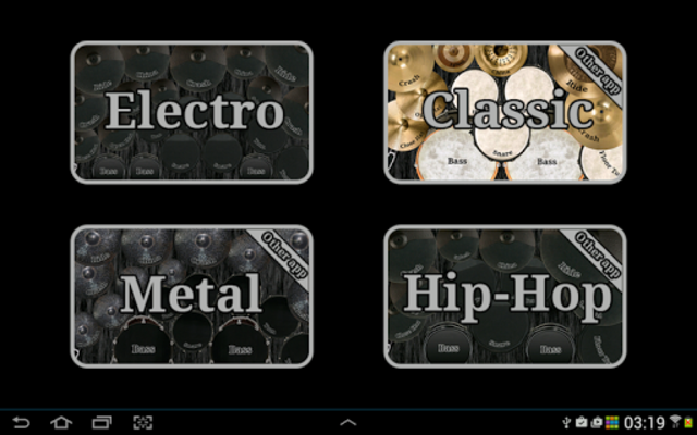 Electronic drum kit screenshot 10