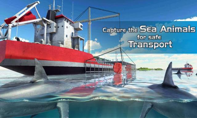 Sea Animal Transport Cruise Ship Driving games screenshot 2