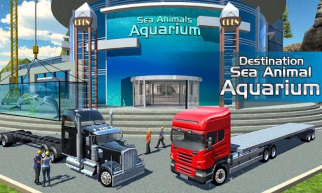Sea Animal Transport Cruise Ship Driving games screenshot 4