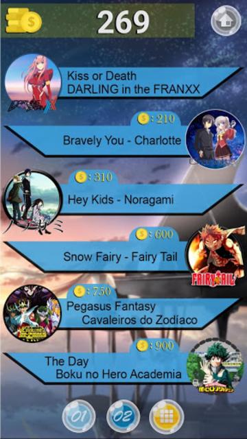 Anime Tiles screenshot 2