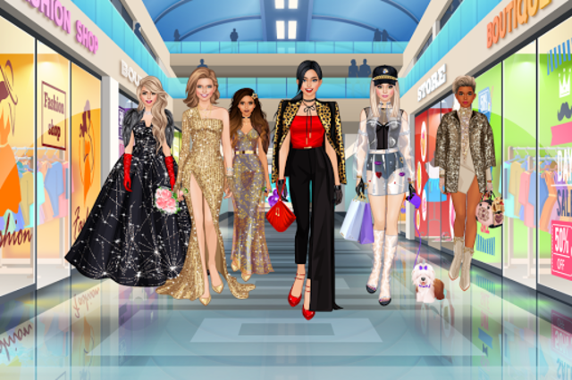Fashion Diva Dress Up - Fashionista World screenshot 1