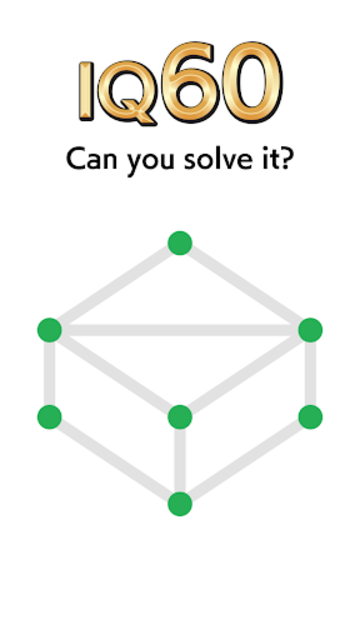1LINE - one-stroke puzzle game screenshot 1