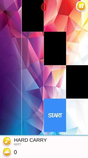 GOT7 Piano Tiles screenshot 3
