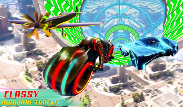 Mega Ramp Light Bike Stunts: New Bike Racing Games screenshot 19