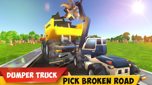 Mega Excavator Heavy Road Construction Machines screenshot 4