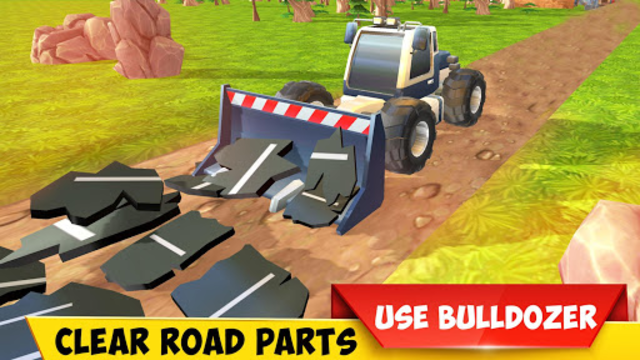 Mega Excavator Heavy Road Construction Machines screenshot 10