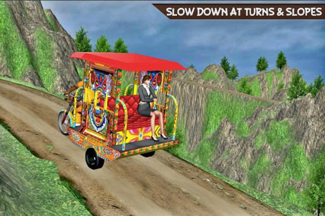 Drive Hill Chingchi Rickshaw: Offroad Driving screenshot 1