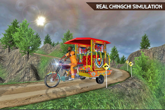 Drive Hill Chingchi Rickshaw: Offroad Driving screenshot 11