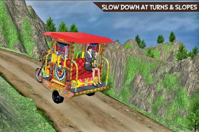 Drive Hill Chingchi Rickshaw: Offroad Driving screenshot 10
