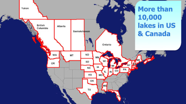 Aqua Map Lakes - Fishing Chart screenshot 3