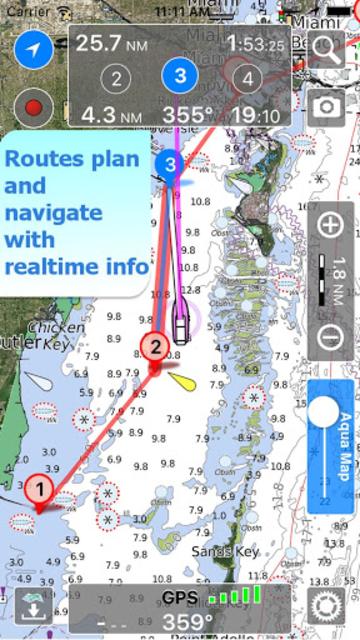 Aqua Map Lakes - Fishing Chart screenshot 5