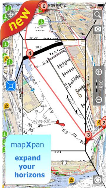Aqua Map Lakes - Fishing Chart screenshot 7