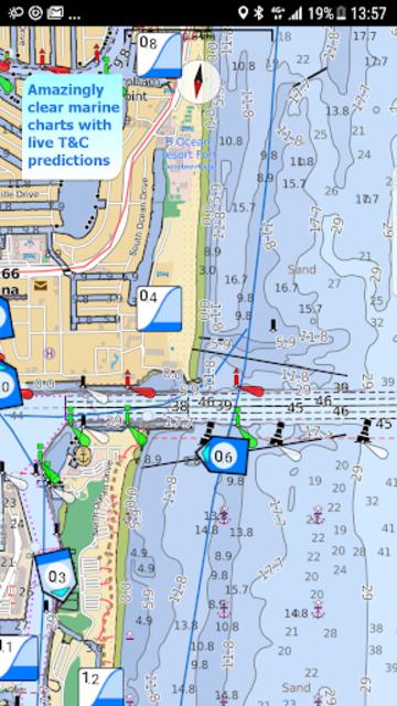 Aqua Map USA Marine GPS screenshot 1