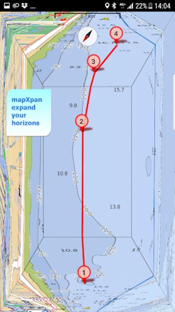 Aqua Map USA Marine GPS screenshot 3