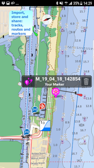 Aqua Map USA Marine GPS screenshot 5