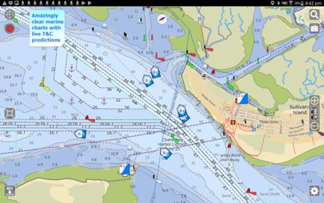 Aqua Map USA Marine GPS screenshot 7