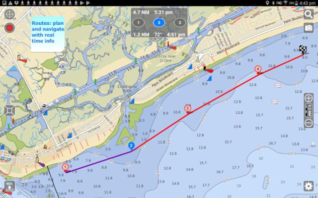 Aqua Map USA Marine GPS screenshot 8