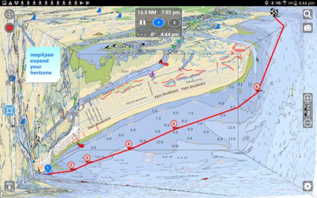 Aqua Map USA Marine GPS screenshot 9