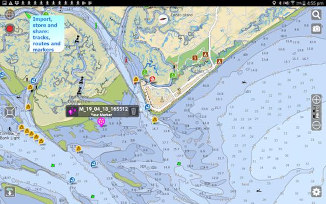 Aqua Map USA Marine GPS screenshot 11