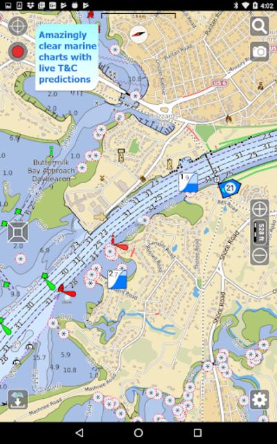 Aqua Map USA Marine GPS screenshot 13
