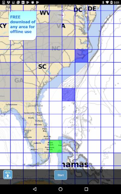 Aqua Map USA Marine GPS screenshot 18