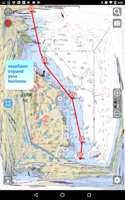 Aqua Map Marine - Boating GPS screenshot 17