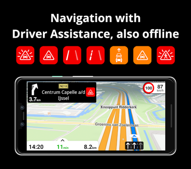 Magic Earth Navigation & Maps screenshot 1