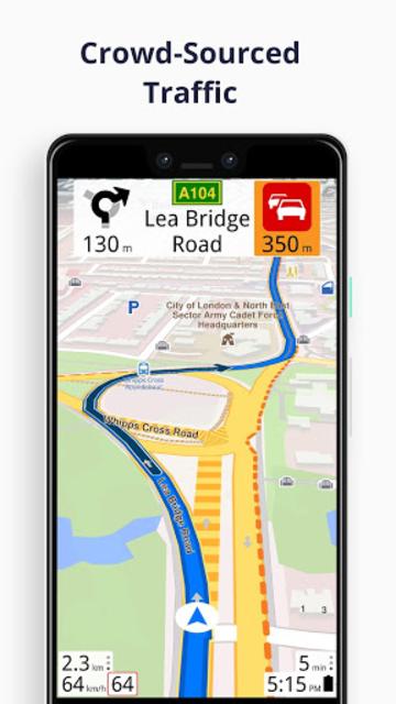 Magic Earth Navigation & Maps screenshot 4